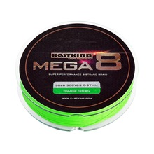KastKing 300Yds/274M 0.14-0.45mm 8 Strands PE Braided Fishing Line Multifilament Fishing Line Green 20-80LB Saltwater Fish Wire