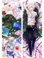 Anime Naegi Makoto Nagito Komaeda Nagito Super Danganronpa Dangan-Ronpa 2 throw pillow cover Hugging body Pillowcase
