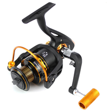 Sizzling Sale Fishing spinning Wheel12+1BB Fishing Reel 3000 and 5.2:1Gear Ratio Steel Materials Spinning Reel