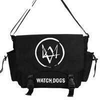 Watch Dogs 2 DJ Alan Walker Handbag Shoulder Casual Messenger bag Student School Book MESSENGER BAGS Gift Cosplay