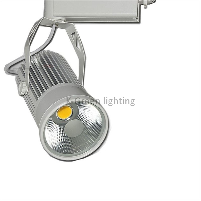 10x High Quality Clic Series 30w Cob Led Track Light With Bridgelux Chip Ac 85