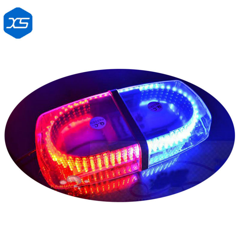 ФОТО Newest Red Blue LED Magnetic Emergency Traffic Safety Warning Flashing Light with Powerful Magnet Bottom,colored strobe light
