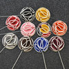 The Beauty Brooch Pin Mens Suit Fabric Mens Corsage Double Sided Cloth Flower