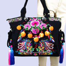 f50e93f76b96 2-Usage Hmong Vintage Ethnic Tribal Thai Bohemian shoulder bag messenger  tote bag handmade