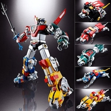 Fantasy Jewel FJ-BSW02 Robot Black Green Yellow Red Blue lion Voltron Defender of the Universe Action Figure Kids Toys With Box jiahui a075 geometric figure wooden education toy for kids red green yellow purple blue
