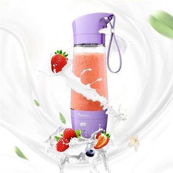 Vilead Creativo Mini Fruta Exprimidor Eléctrico Fabricante Plástico Tritan Fruta Agitación Hogar Botella De Agua Portable Vegetal Mezclador