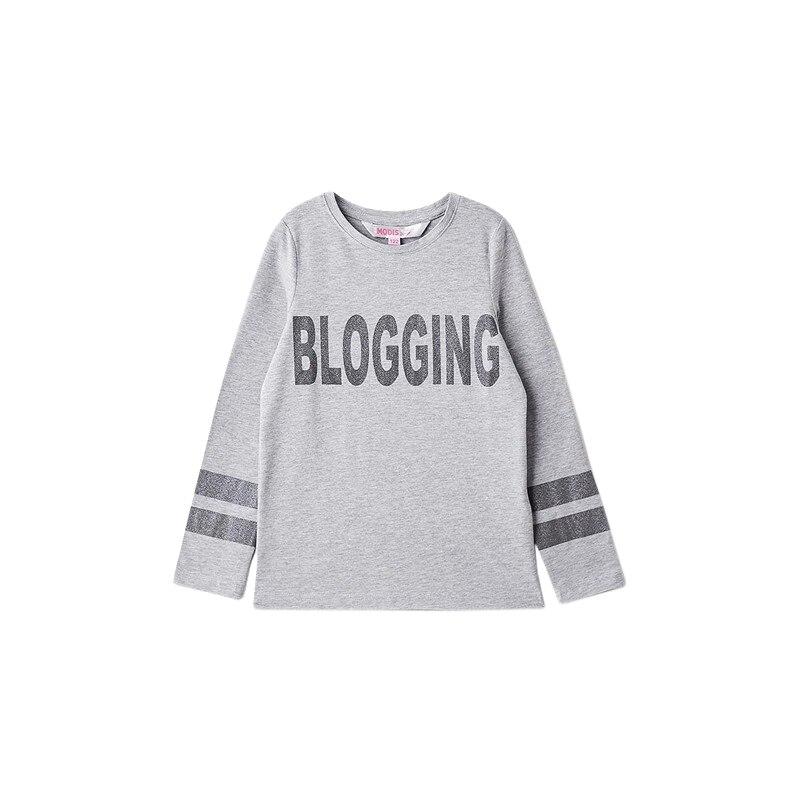 Hoodies & Sweatshirts MODIS M182K00152 for girls kids clothes children TmallFS