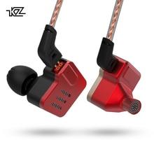 KZ BA10 сбалансированные наушники arament Driver 5BA HIFI наушники в ухо наушники спортивные наушники с шумоподавлением ZS10 ZST