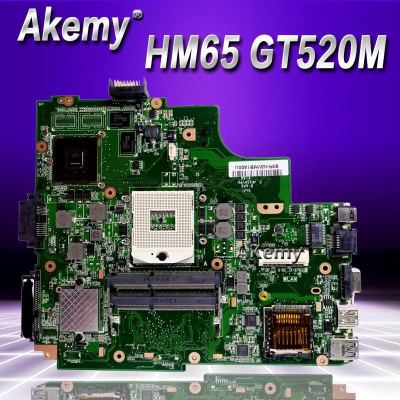 Akemy K43SJ laptop Motherboard For ASUS X43S A43S K43S A83S A84S K43SV Mainboard 100 OK REV