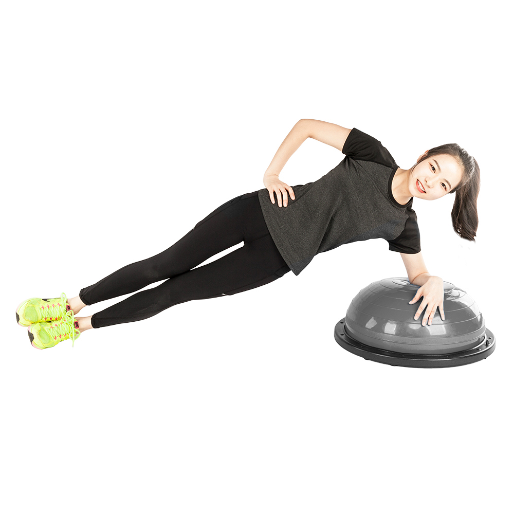 Intérieur Extérieur L'équilibre Corporel L'hémisphère Balle De Yoga Demi-Boule D'équilibre De Remise En Forme Boule Balle de Gymnastique D'exercice De Sport Fitball