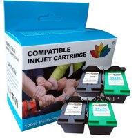 Compatibele Inkt Voor Hp 338 343 Nagevulde Cartridge Voor Hp 460c 5740 5745 6520 6540 6620 6840 9800 6200 6210 7210 7310 7410 Printer