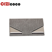 New Women Men Credit Card Package Holder Business Case Wallet High QualitId