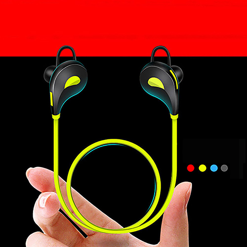 Bluetooth Wireless Headset Stereo Headphone Sport Earphone for iPhone Samsung new metal magnetic wireless bluetooth headphone sport headset hands fress hifi earphone with mic for iphone samsung phones