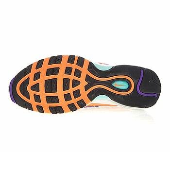 AIR MAX 98 QS hombres zapatos antideslizante azul y púrpura
