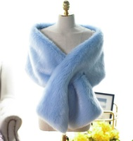 P0043 NEW FASHION Thick Winter Scarf Women Fox Fur Warm Scarves Shawls faux fur scarf winter scarf women 7 colors