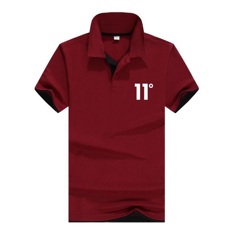 Summer sale Brand 11 degrees Men Sportswear Fashion brand Print Men   polo   Hip Hop Mens tracksuit Sweatshirts Men's leisure   polo