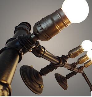 Beugel licht, LED lampen Loft stijl retro restaurant bar verlichting ...