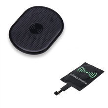 Qi Wireless Charging Mat For Lenovo Z6 Pro Huawei P20 Pro Lite Xiaomi Redmi Note7 With Type C Wireless Charger Receiver Unit Kit