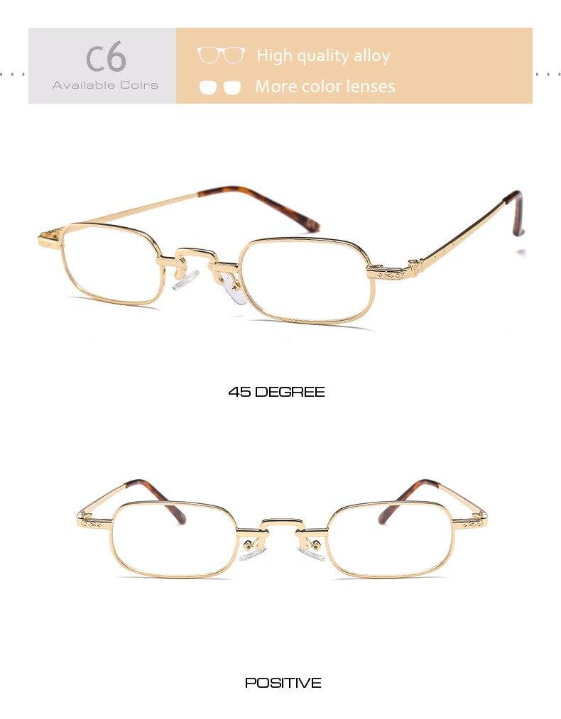 Di Vintage Da Piazza Piccola c4 D c Per C5 Oculos c6 c2 Sole c1 Sol Donne Moda Carino O De Vetro Occhiali Le Signore Feminino c3 Retrò Femminile wt7q50