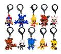 10pcs/set Resin Five Nights At Freddy's FNAF Freddy Bear foxy Bonnie Chica Toys doll kids gift Freddy Fazbear