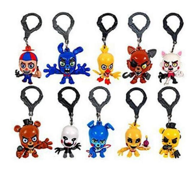 5d14cc177 10pcs/set Resin Five Nights At Freddy's FNAF Freddy Bear foxy Bonnie Chica  Toys doll kids gift Freddy Fazbear-in Movies & TV from Toys & Hobbies