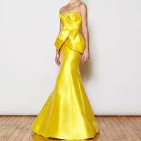 2015 Elegant Formal Gala Rochii Strapless Womens Satin Party Dress Evening Gowns Pastel Prom Dresses Long