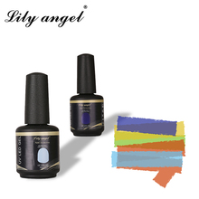 Lily angel 15ml High Quality Nail Gel Polish Professional Led UV Soak Off  Long Lasting Liquid QSA-009 Color1-31