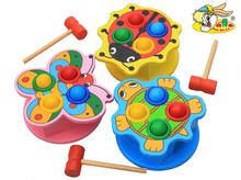 knock the ball game,animal toys,butterflies, turtles 3 models to choose from, early childhood educational toys