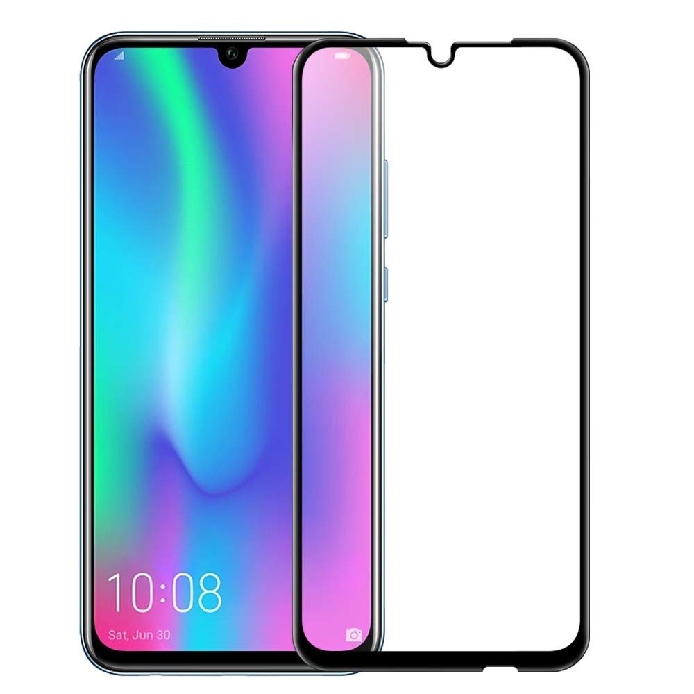 Buy 9H 9D Full Cover Screen Protector For HuaWei Honor 10 lite Tempered Glass for HuaWei P Smart 2019 Curved Protective Display Film for only 2.49 USD