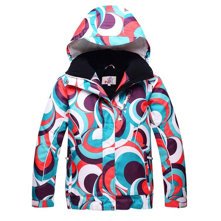 Prix pour Fille ou Garçon Neige Veste Marques Haute qualité Enfants ski Vêtements de plein air ski snowboard coupe-vent imperméable Ski vestes