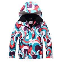 Girl or Boy Snow Jacket Brands High quality Children skiing Clothing outdoor ski snowboard windproof waterproof Ski jackets