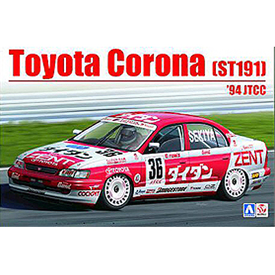 `94 Jtcc B24013 Year-End Bargain Sale st-191 Selfless 1/24 Toyota Corona