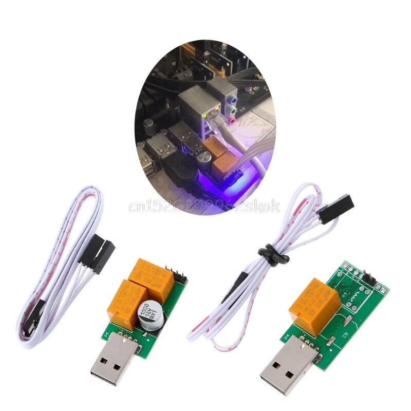 USB Watchdog Card 2.0 Computer Blue Screen Halted Automatic Restart BTC Miner J08 dropshipping asia blue card 100g