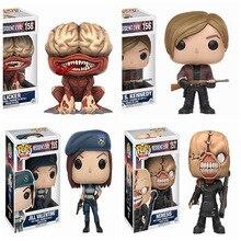 FUNKO POP NEW Resident Evil 10cm NEMESIS,JILL VALENTINE,LICKER kolekcja figurek zabawki modele na prezenty urodzinowe dla dzieci