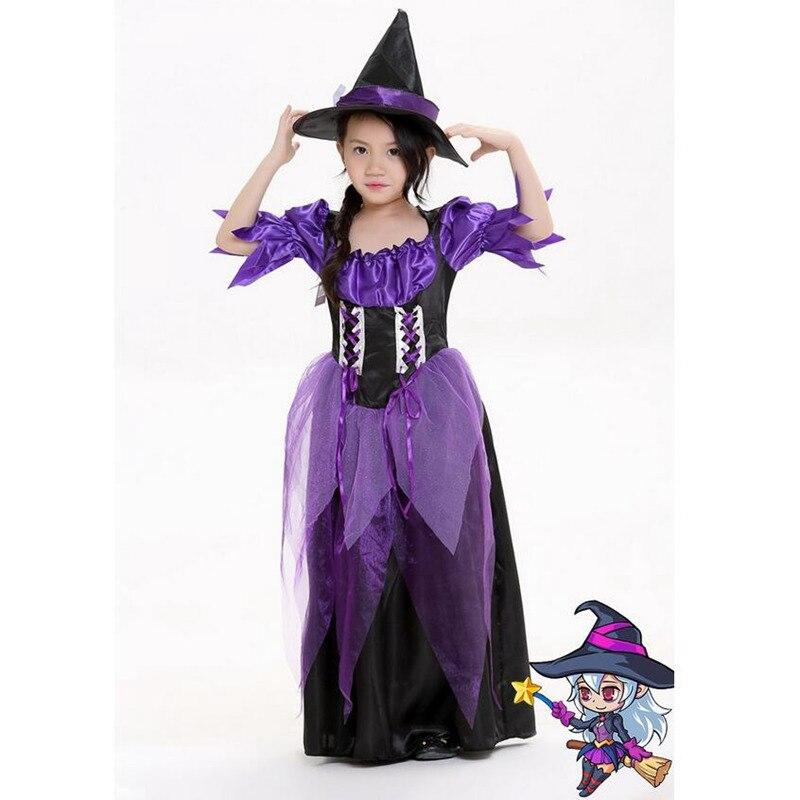 ᗛHistorieta Linda bruja princesa traje Cosplay para niña de los ...