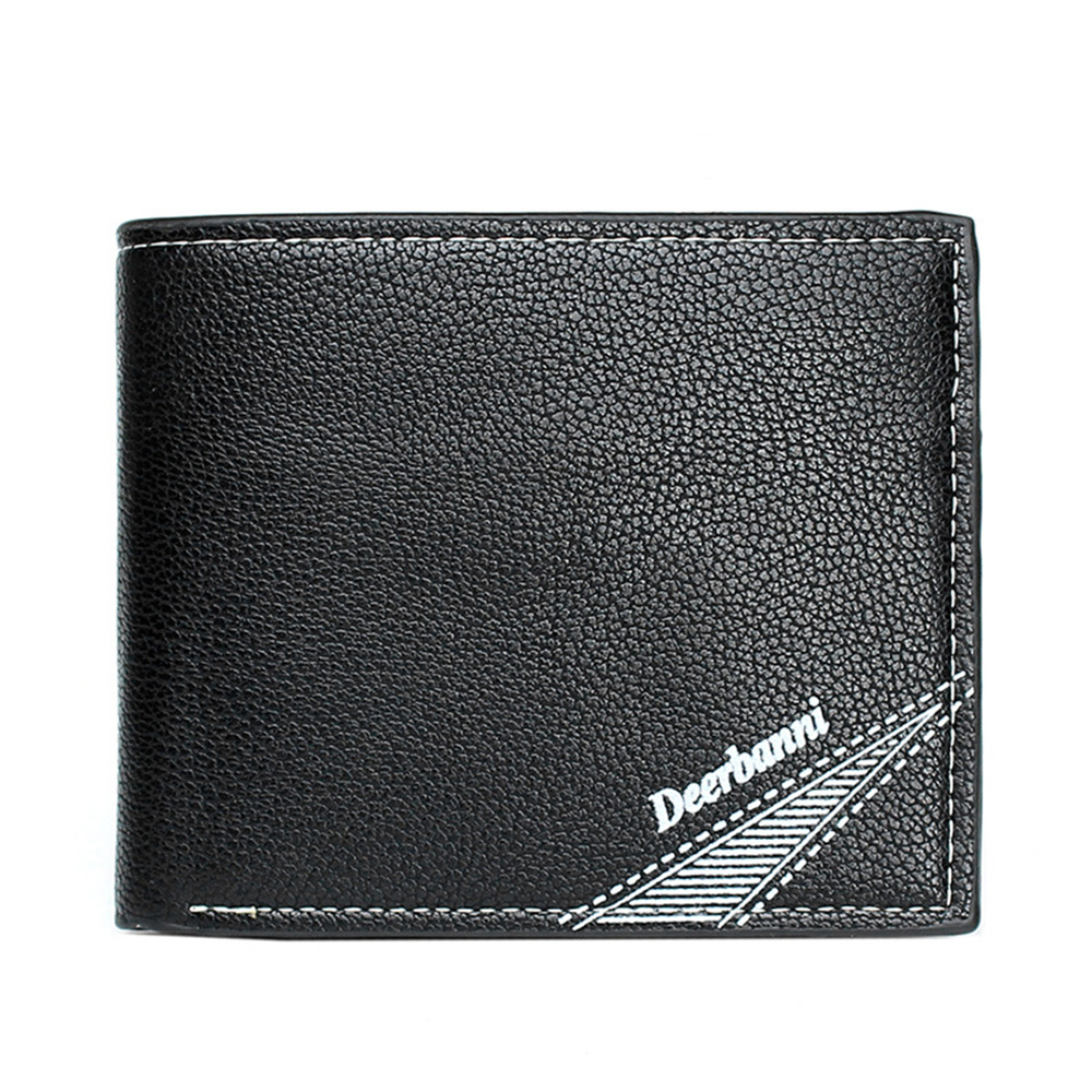 New Fashion Men Wallets Card Holder   Famous Brand  Coin Purse PU Leather  Money Purses famous brand new passport card holder