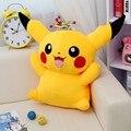 Novo 55 cm Gigante mon Puxão Pikachu de Pelúcia Bonito Pikachu de Pelúcia Brinquedos de Alta Qualidade Brinquedos de Pelúcia Bichos de pelúcia Macia bichos de pelúcia gigantes