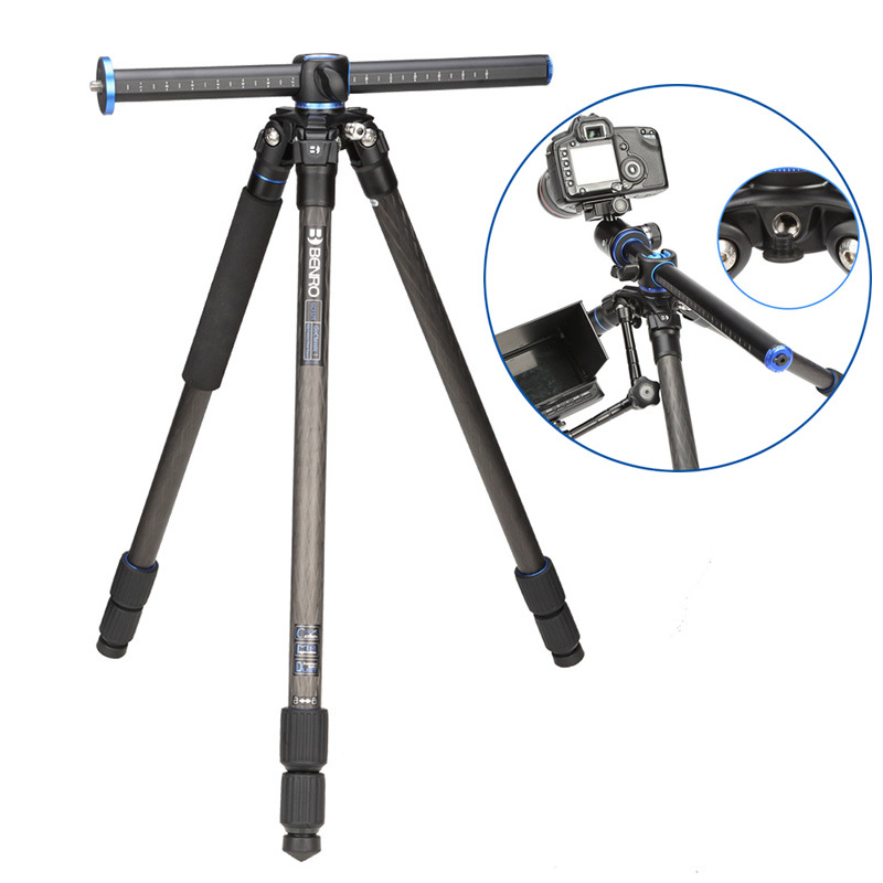 Benro GC157T Tripods Carbon fiber Camera Tripod Monopod For Camera 3 Section Carrying Bag Max Loading 10kg DHL Free Shipping