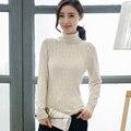 Мода Теплый Женщины Свитер 2016 Новый Длинные Рукава Женщины Пуловеры Весна Осень Молодые Дамы Вязаный Свитер