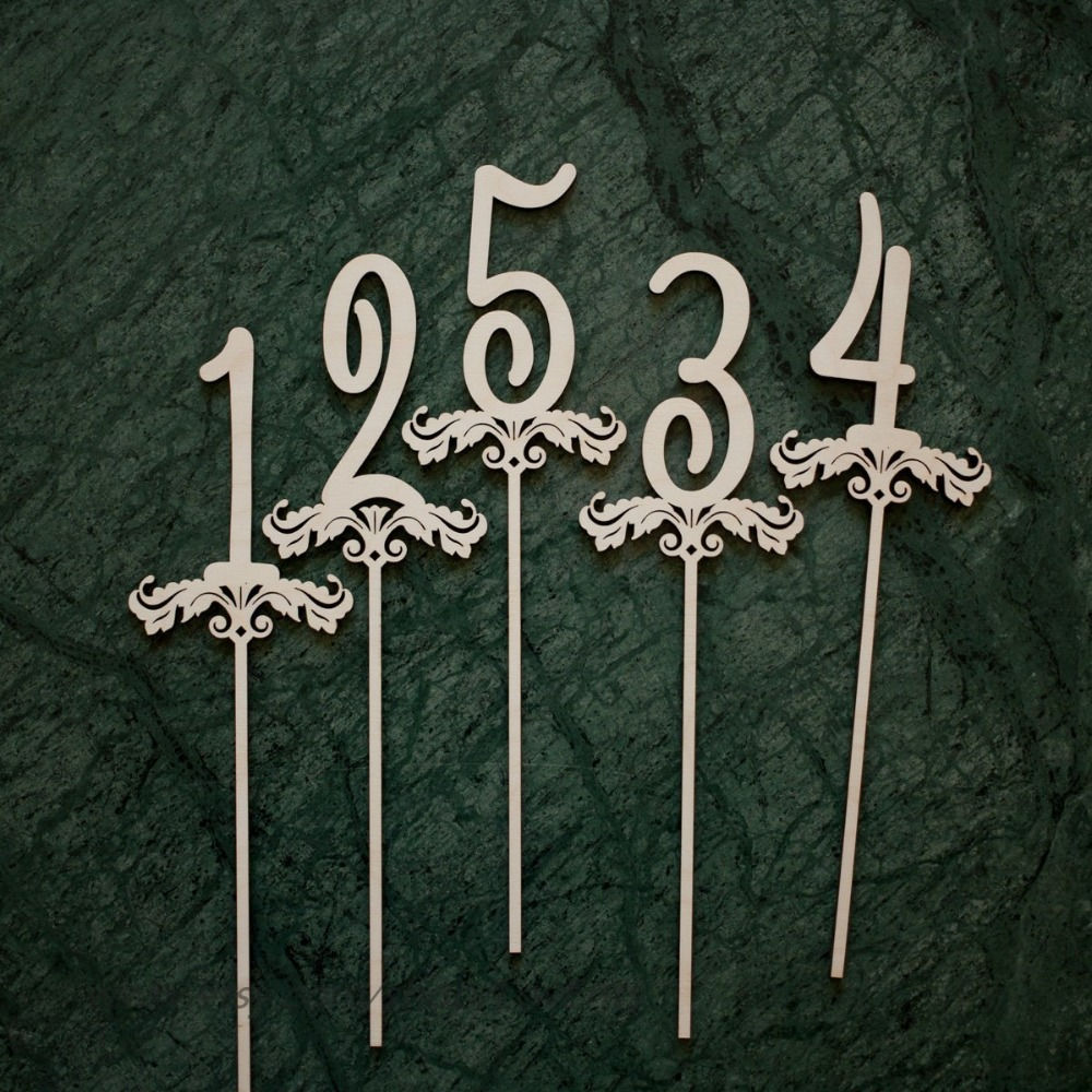 Wooden Table Numbers on a stick, Wood Wedding Table Numbers, Wedding Table Numbers Set, Wedding Table Decor, Table NumbersWooden Table Numbers on a stick, Wood Wedding Table Numbers, Wedding Table Numbers Set, Wedding Table Decor, Table Numbers