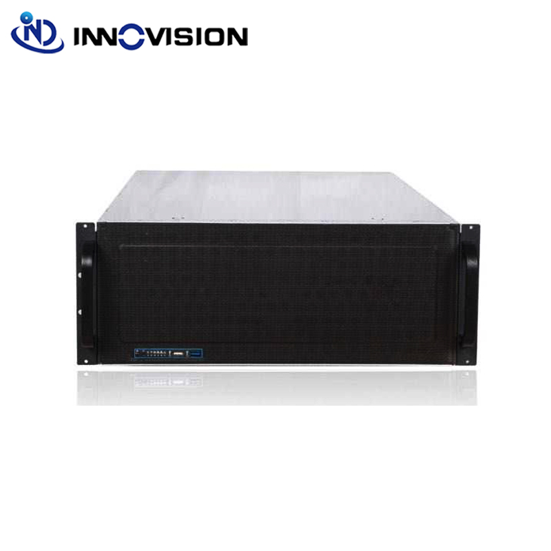 High entry 15HDD 4U Rack mount e atx server case Industrail storage chassis
