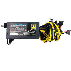 2000W 220V Switching psu power supply for asic antminer Ethereum S9 S7 L3 Rig Mining Computer Graphics ETH ZCAS miner MAX 2400W(China)