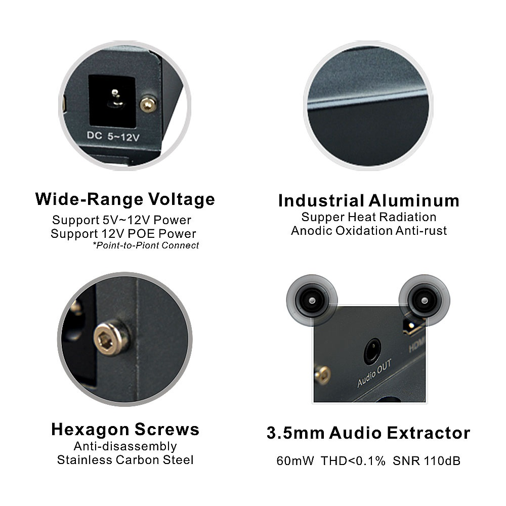 extender hdmi audio extractor