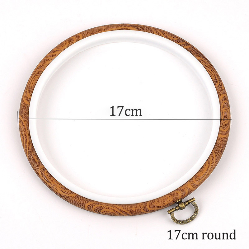 17cm round