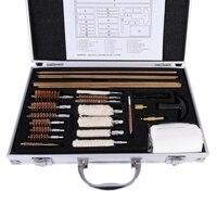 Rifle Pistol Handgun Shotgun Cleaner Universal Gun Cleaning Kit Convenient With Case Box Accessories Durable