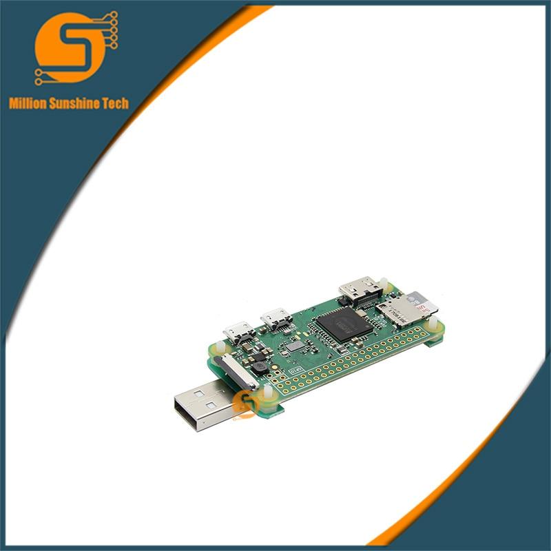 Hot Sale! Raspberry Pi Zero / Zero W BadUSB USB-A Addon Board USB Connector RPi0 To U Disk Expansion Board