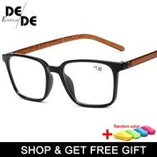 The New Reading Glasses Women Men Lightweight Presbyopic 1.0 1.5 2.0 2.5 3.0 3.5 4.0 Presbyopia Eyewear with box
