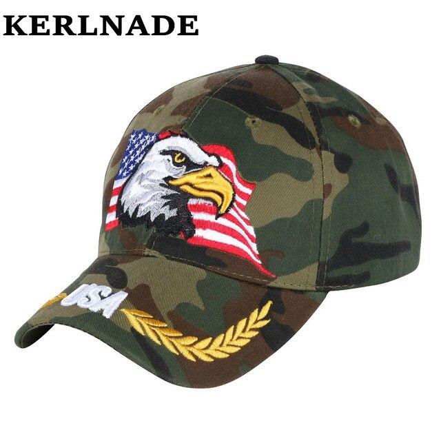 Hommes garçon marque casquette de baseball personnalisé design aigle  caractère broderie camouflage style nouveauté snapback chapeaux