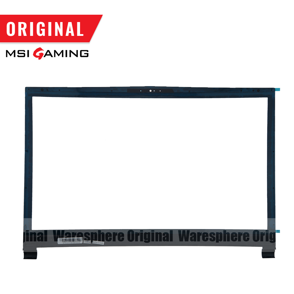Image 4 - New and Original LCD Back Cover Front Bezel For MSI GS73 GS73VR Rear Lid Case Black 3077B5A213 3077B1A222-in Laptop Bags & Cases from Computer & Office