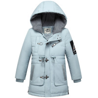Baby Girl Winter Down Jackets Warm Boys Coat age 4 5 6 8 10 years with Fur Hooded Kids Winter Clothing